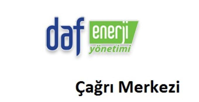 DAF Enerji Yönetimi Çağrı Merkezi İletişim Müşteri Hizmetleri Telefon Numarası Şikayet Hattı